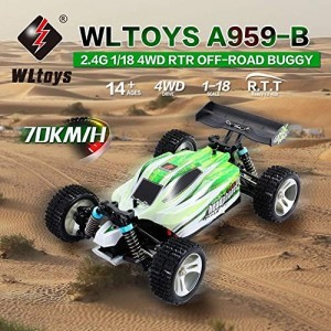 Buggy Vortex 70 Km/h 1:18 RTR