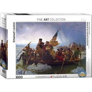 Puzzle 1000 Washington Cruzando el Delaware