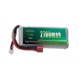 Batería Li-Po 2S 2700mAh