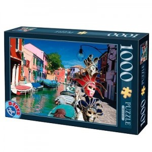 Puzzle 1000 Burano, Italia