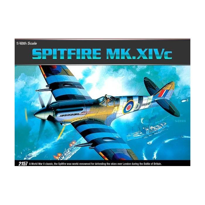 Maqueta Avión Spitfire MK. XIV-C 1/48