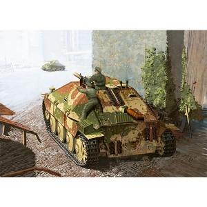 Maqueta Tanque Jagdpanzer 38(t) Hetzer Late 1/35
