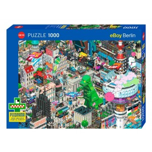 Puzzle 1000 Berlin Quest -...