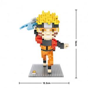LOZ Figura Naruto 690 piezas
