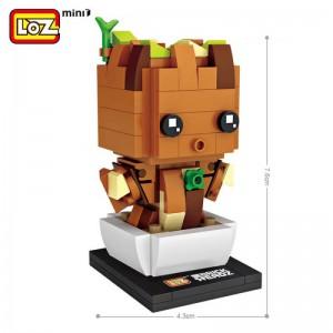 LOZ Baby Groot 137 piezas mini