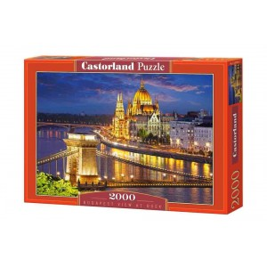 Puzzle 2000 Budapest al Atardecer
