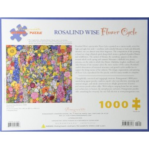 Puzzle 1000 Flower Circle,...