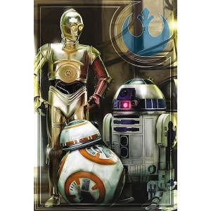 Puzzle 160 Star Wars Droides