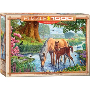 Puzzle 1000 The Fell Ponies