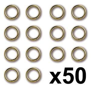 Anilla Latón 3X0,4mm (50)...