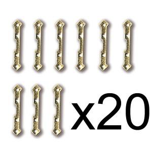 Bisagra Latón 1,5X15mm (20)...