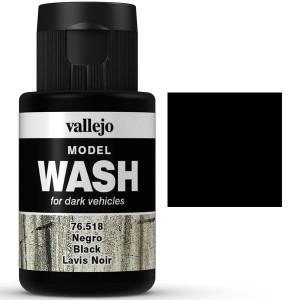 Model Wash Negro 35ml Vallejo