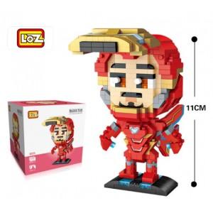 LOZ Figura Ironman 620 piezas