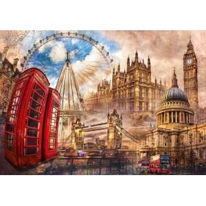 Puzzle 1500 Vintage London...