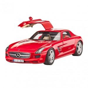 Maqueta Mercedes Benz SLS...