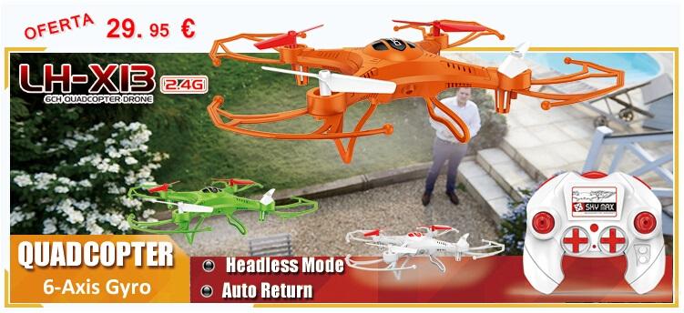 Oferta Cuadricóptero Drone LH-X13S