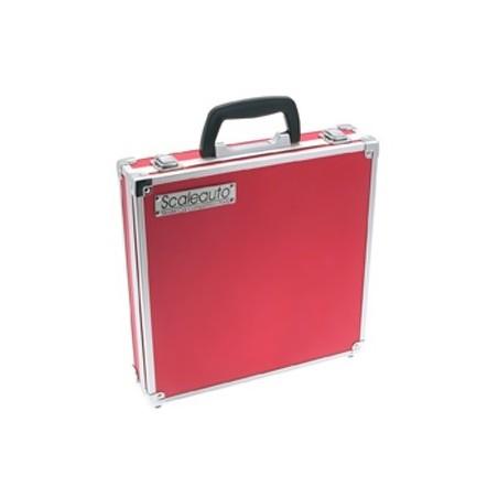 Maleta Slot Aluminio Roja