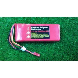 Batería Li-Po 11,1V - 2000 mAh