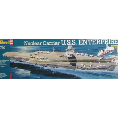 Maqueta U.S.S. Enterprise 1/720