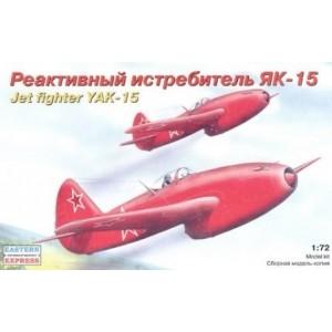 Maqueta Avión Jet Fighter YAK-15 1:72