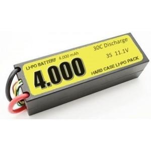 Batería Li-Po 3S 4000mAh 30C