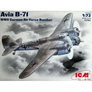 Maqueta Avión Avia B-71  1:72