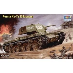 Maqueta Russia KV-1´s Ehkranami 1:35