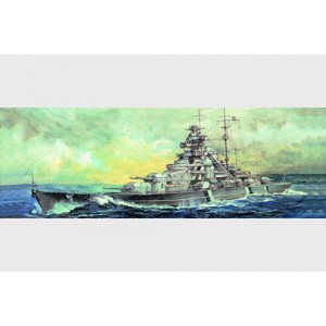 Maqueta Germany Bismark Battleship 1941 1:700