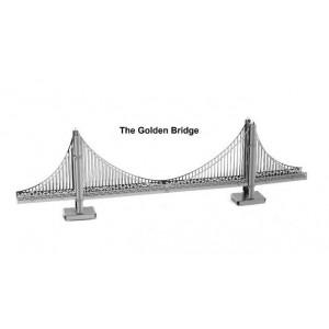 Puente Golden Gate Metal 3D