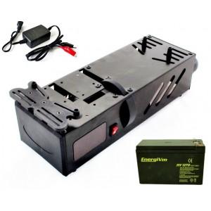 Caja de Arranque + Batería 12v + Cargador