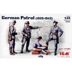 Figuras German Patrol 1:35