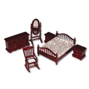 Ambiente Dormitorio Colonial