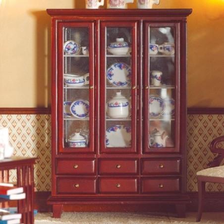 Mueble Comedor con Cristalera y Cajones