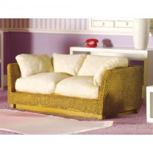 Sofá de Rattan