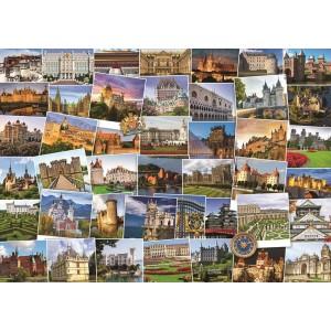 Puzzle 1000 Globetrotter - Castles & Palaces