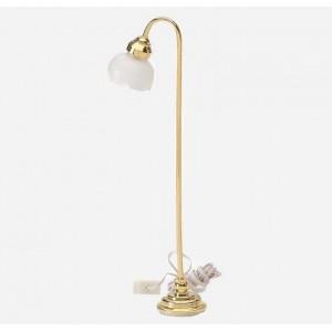 Lámpara de Pie 1 Tulipa Blanca