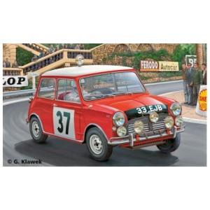 Maqueta Coche Mini Cooper Montecarlo 1964 1:24