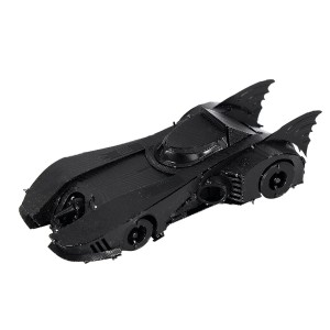 Batmobile Batman 1989  Metal 3D