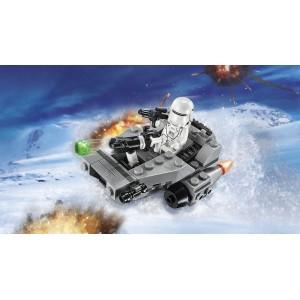 First Order Snowspeeder Star Wars Microfighters Blocks