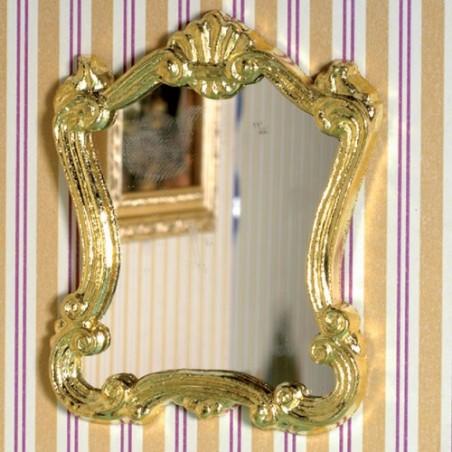 Espejo Dorado Pared