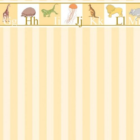 Papel Pintado Pared Amarillo