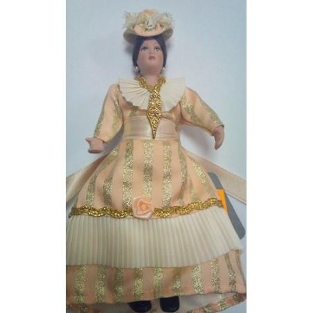 Personaje Señora 15cm Flor
