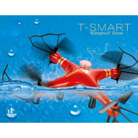 Cuadricóptero T-Smart Waterproof 2.4Ghz con Cámara