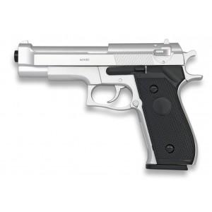 Pistola AIRSOFT Ligera Plata HFC