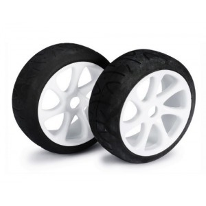 Ruedas 1/8 Buggy Street 7 Spoke White