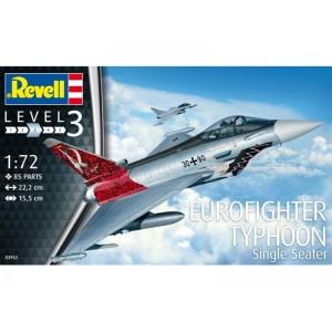 Maqueta Avión Eurofighter Typhoon 1:72