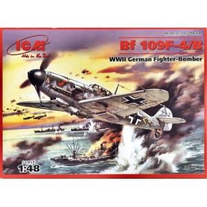 Maqueta Avión Bf 109F-4/B 1:48