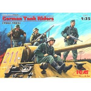 Maqueta Figuras German Tank Riders (1942-1945) 1:35