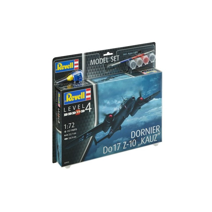 Maqueta Avión Dornier Do17 Z-10 Model Set 1:72