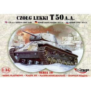 Maqueta Tanque T-50 A.A. Russian Light Tank 1/35